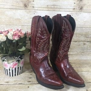 Women's Laredo Cowboy Boots Size 7.5